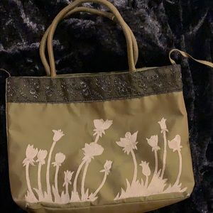Gorgeous silk embroidered purse
